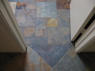 Custom Tile Installation In San Diego La Jolla Del Mar Encinitas - 4 inch slate tile