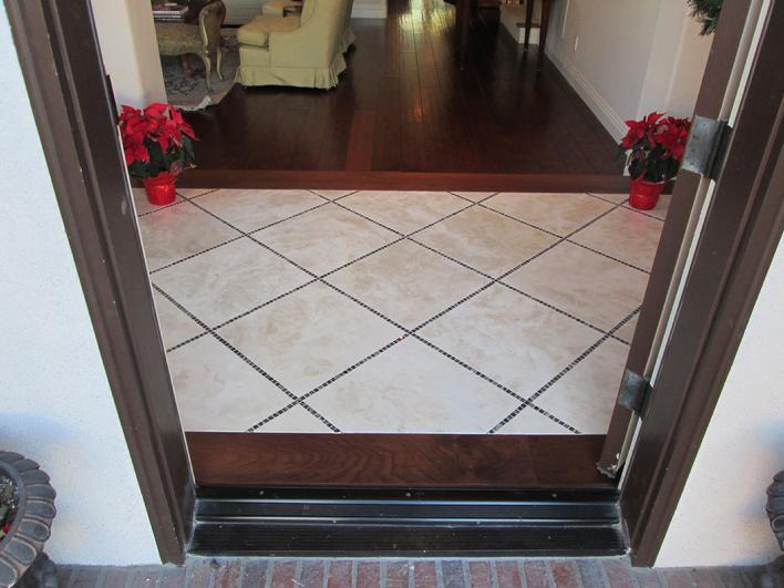 Custom Tile Installation In San Diego La Jolla Del Mar Encinitas - 24 inch travertine tiles