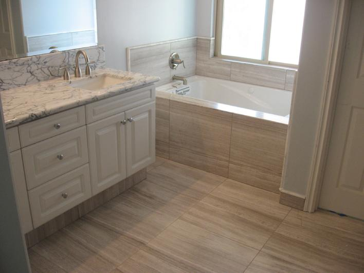 Bathroom Radiant Heated Floors
