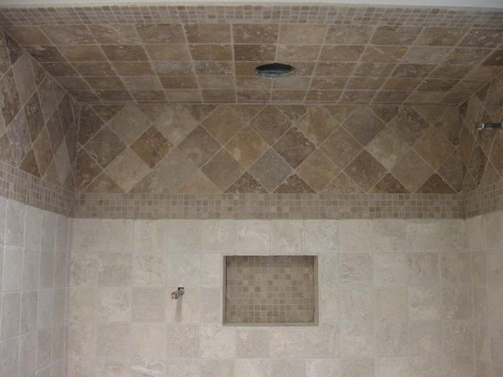 Custom Tile Installation In San Diego La Jolla Del Mar Encinitas - 6 inch travertine tile